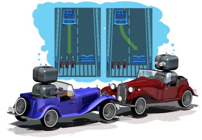 Робомобили будут давить людей на дорогах строго по правилам