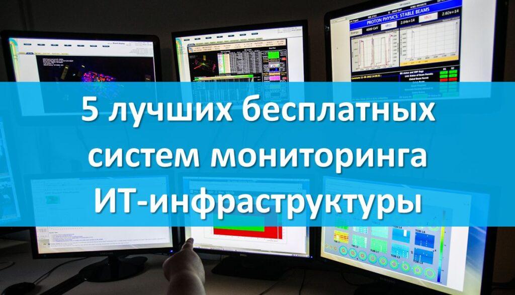 5 лучших бесплатных систем мониторинга ИТ-инфраструктуры