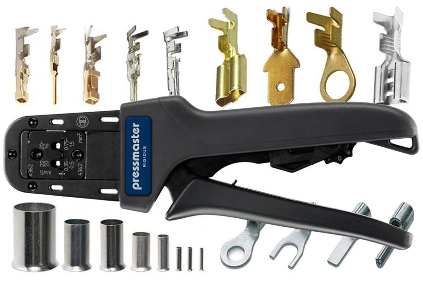 Коннекторы и кримперы - что важно знать про опрессовку кабельных наконечников?