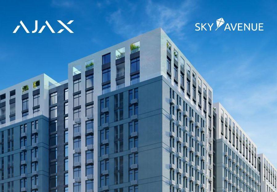 Автоматизация многоквартирного дома с помощью систем безопасности и умного дома Ajax