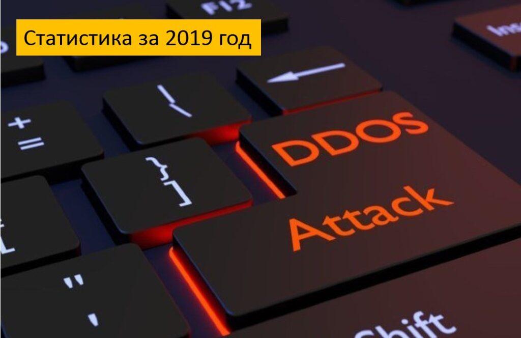 DDoS атаки в 2019 г: статистика
