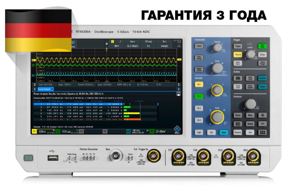 8 преимуществ осциллографов Rohde&Schwarz RTM3000