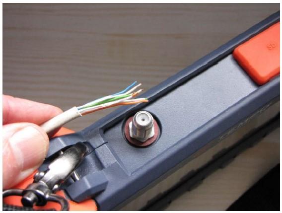 Как использовать рефлектометр коаксиала для тестирования витой пары и силового кабеля